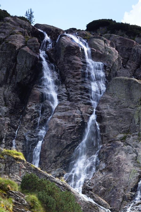 Bergwaterval Stock Fotografie