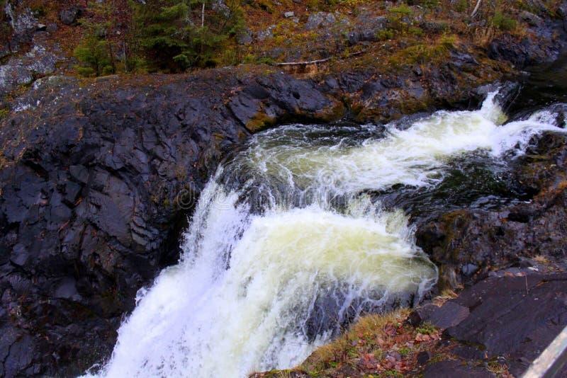 Bergwaterval in Noord-Kareli? royalty-vrije stock afbeeldingen