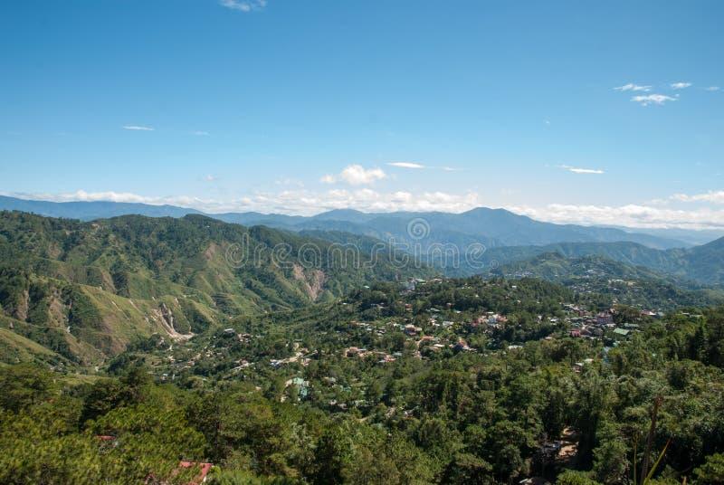 Bergwerk-Ansicht-Parklandschaft stockbild