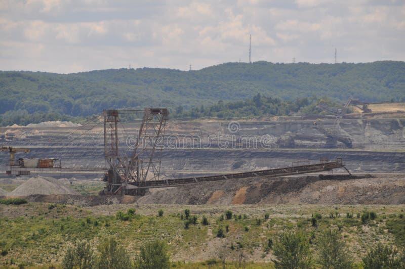 Bergwerksausrüstung stockfotografie