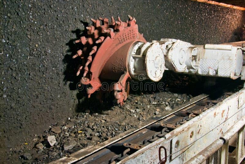 Bergwerksmaschine stockfotos