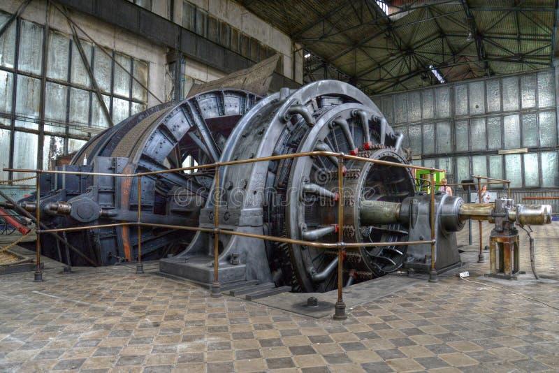 Bergwerksmaschine stockfoto