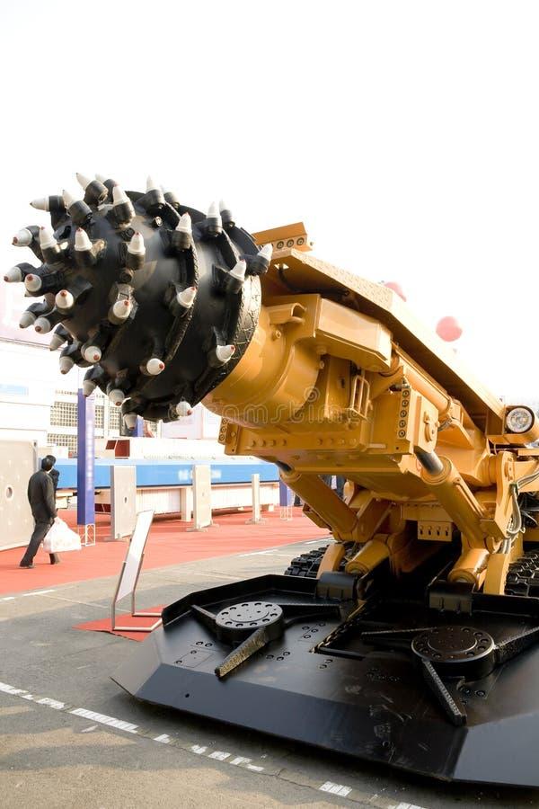 Bergwerksmaschine stockbild