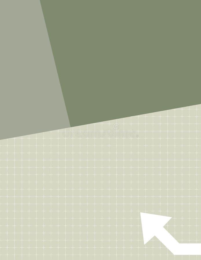 Berichten Sie über Abdeckung stock abbildung