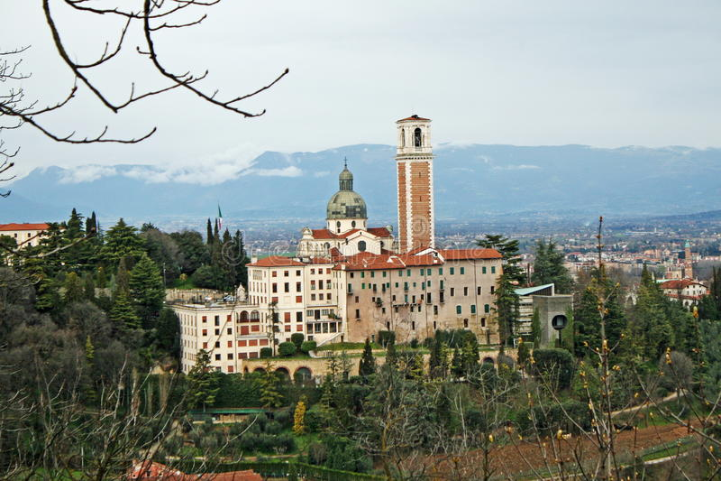 berico monte Βιτσέντσα βασιλικών στοκ εικόνες