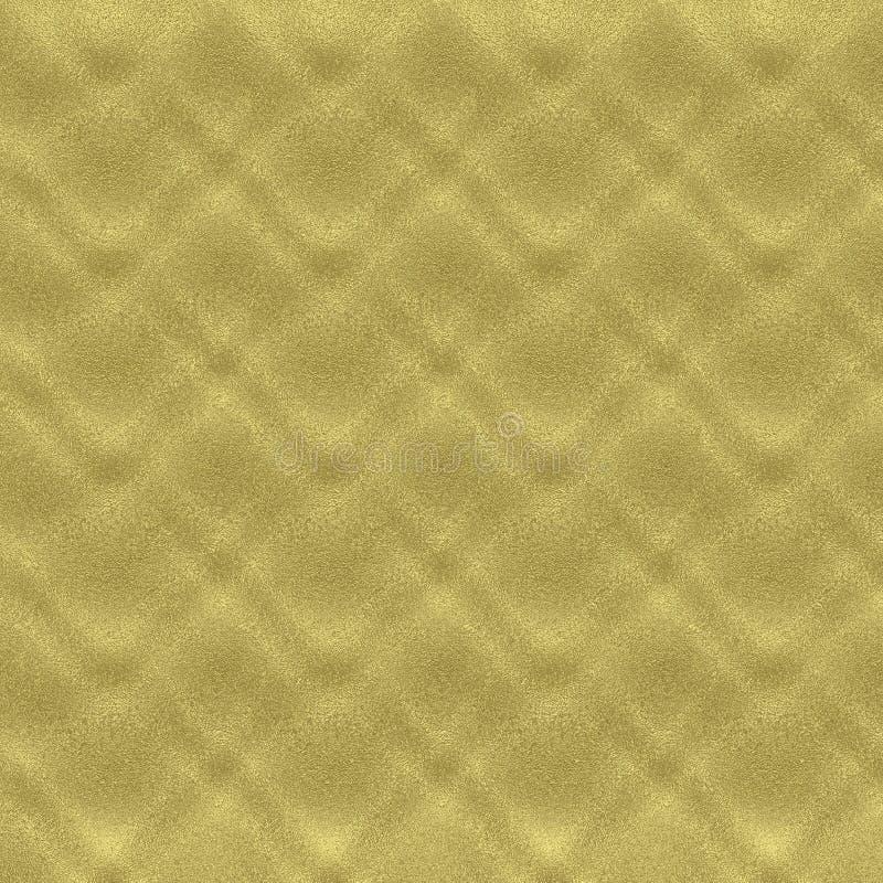 Berijpt goud 1 royalty-vrije illustratie