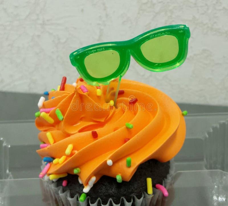 Berijpte Cupcake stock afbeeldingen