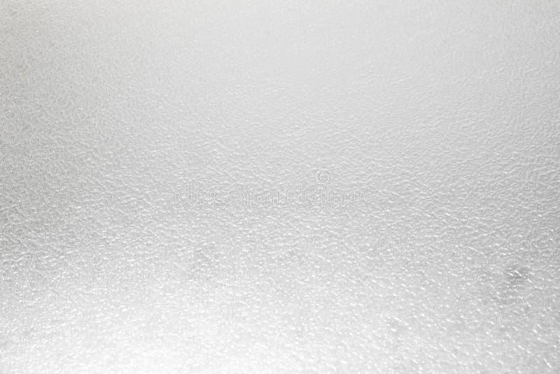 Berijpte glastextuur als achtergrond stock foto's
