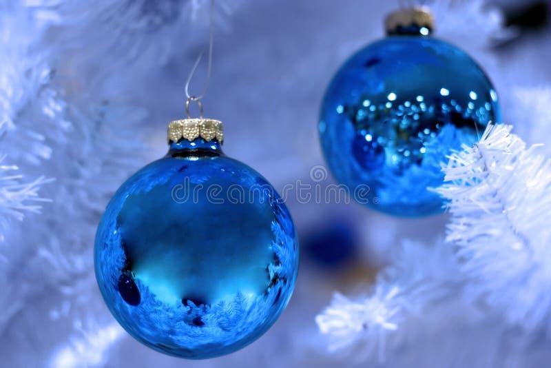 Berijpte Kerstmis stock foto's