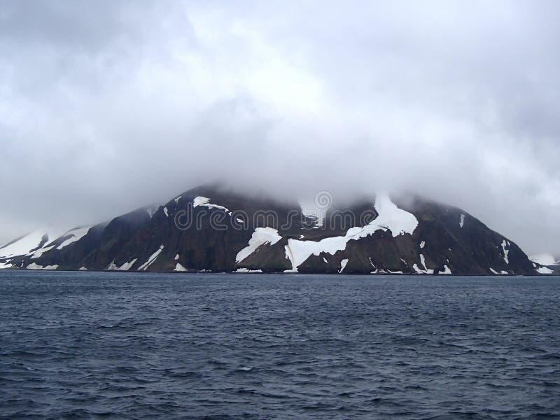 Bering Eiland het Bering Overzees, Bevelhebber Islands stock foto