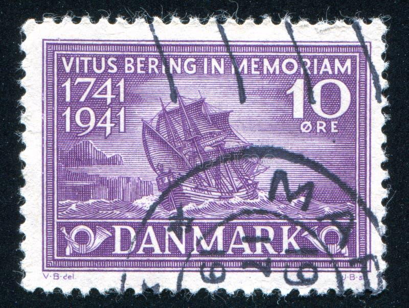 Bering Schip stock afbeelding