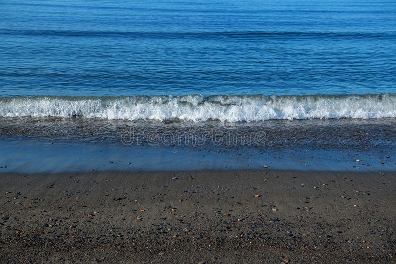 Bering Sea Surf stock image