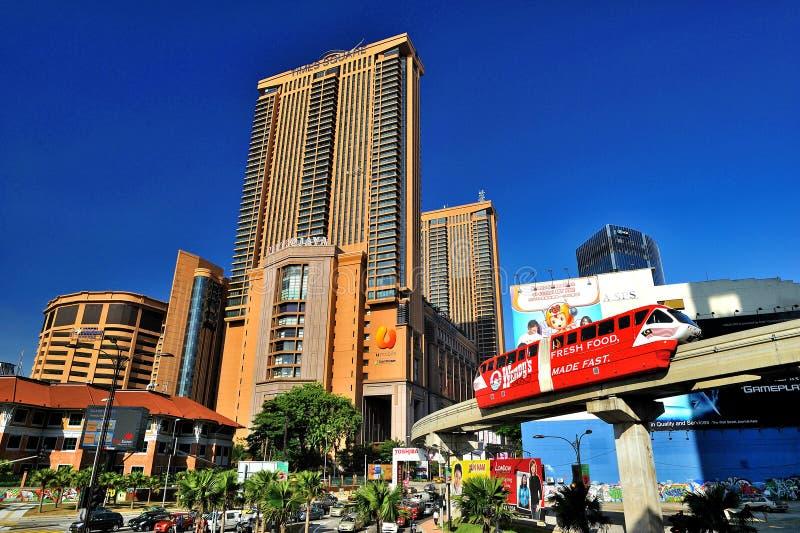 Berjaya时代广场吉隆坡 免版税库存照片
