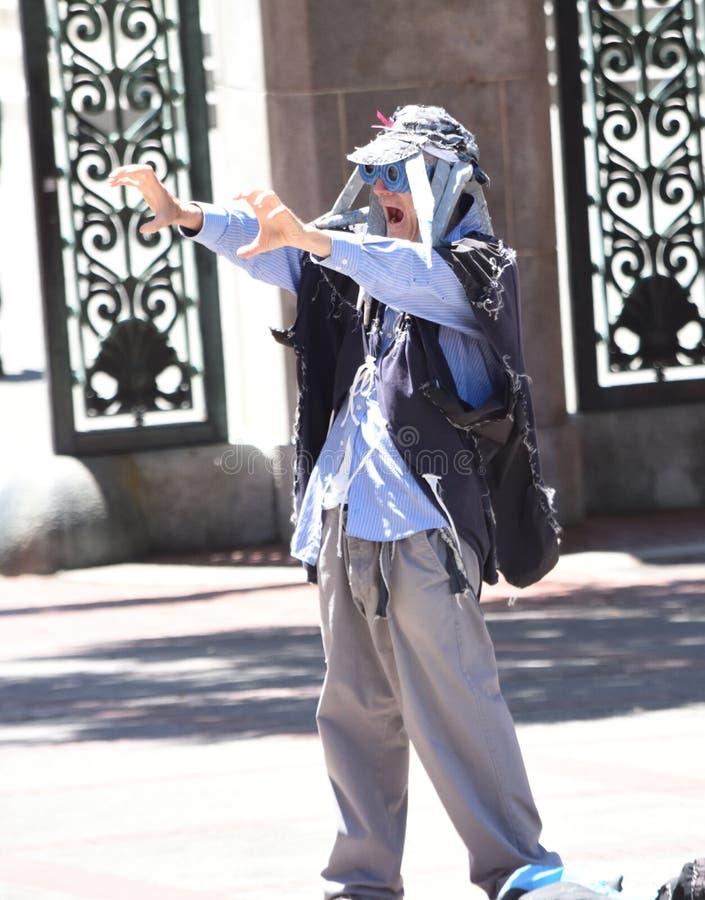 Berkeley Dude stock foto's
