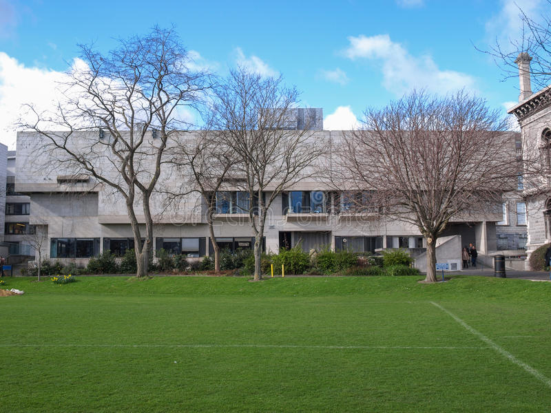 Berkeley Library à Dublin photos stock