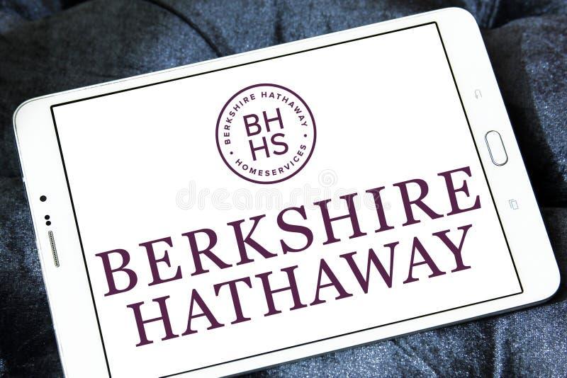 Berkshire Hathaway firmy logo obrazy stock