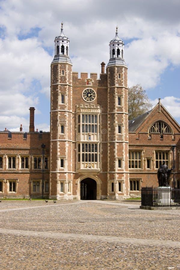 berkshire szkoła wyższa eton lupton s wierza obrazy royalty free
