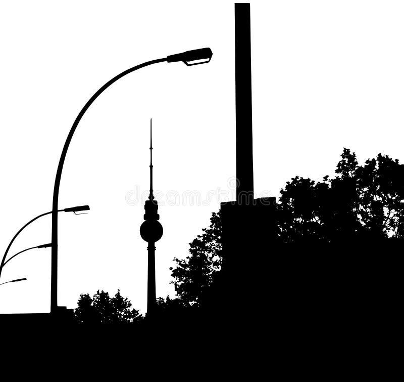Berlín stock de ilustración