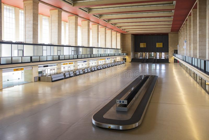 Berlín, Alemania, agosto de 2018; Berlin Tempelhof Airfield anterior fotos de archivo