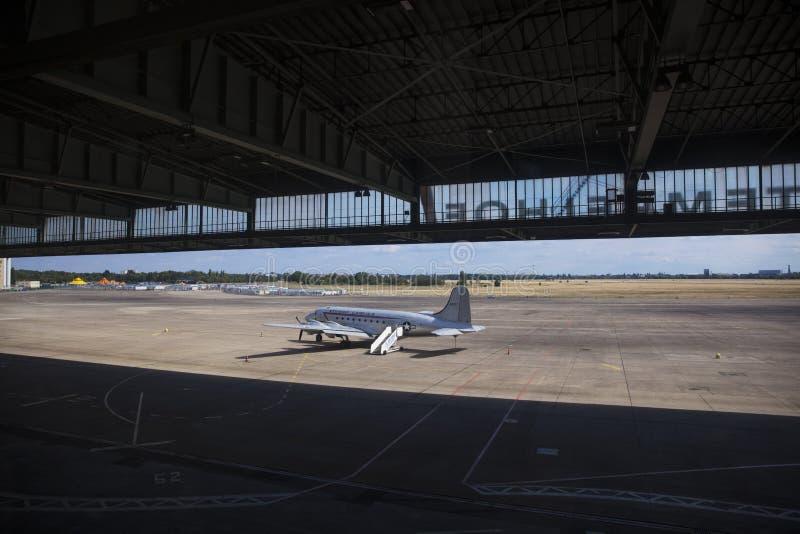 Berlín, Alemania, agosto de 2018; Berlin Tempelhof Airfield anterior imagenes de archivo