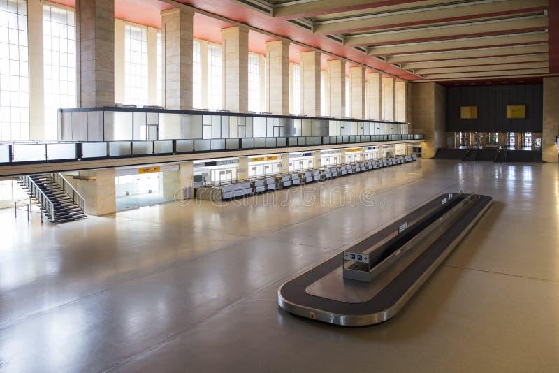 Berlín, Alemania, agosto de 2018; Berlin Tempelhof Airfield anterior imagen de archivo