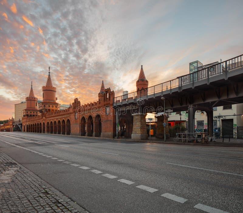 Berlín, Alemania, estación del Tor de Schlesisches imágenes de archivo libres de regalías