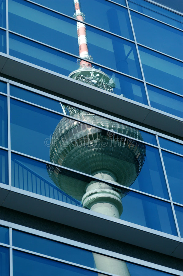 Berlín? Alexanderplatz imagenes de archivo