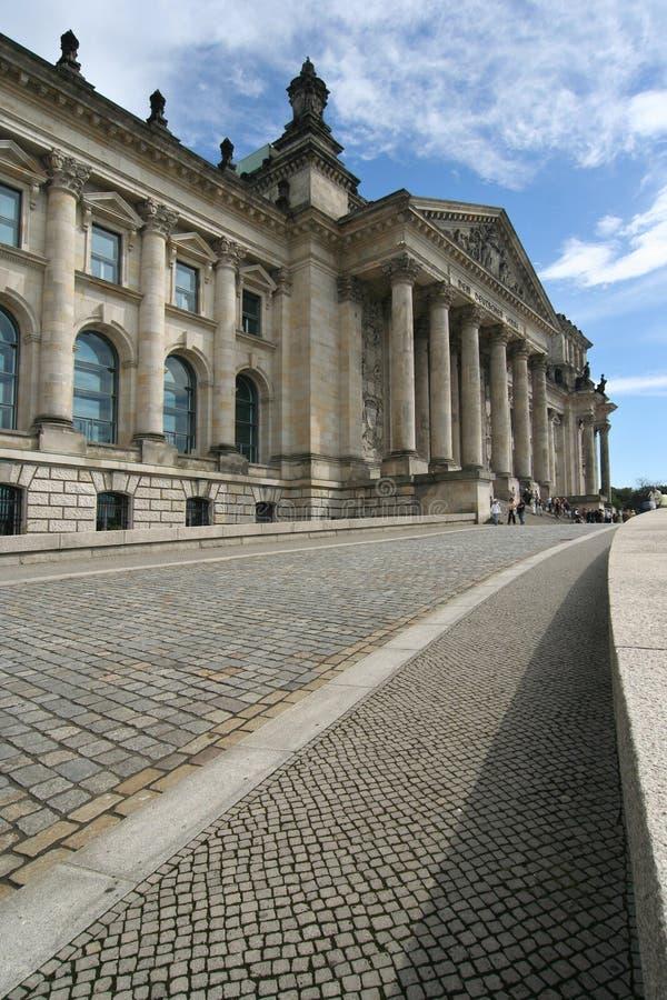 Berlín, edificio de Reichstag fotografía de archivo libre de regalías