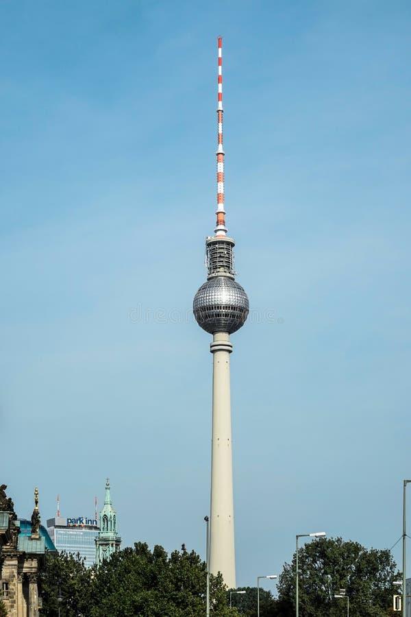 BERLÍN, GERMANY/EUROPE - 15 DE SEPTIEMBRE: Visión desde el castillo Bri fotografía de archivo libre de regalías