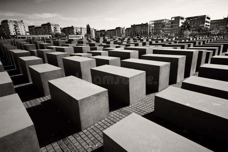 Berlín, monumento del holocausto foto de archivo libre de regalías