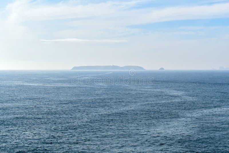 Berlengas wyspy w morzu, Peniche, Portugalia obrazy stock