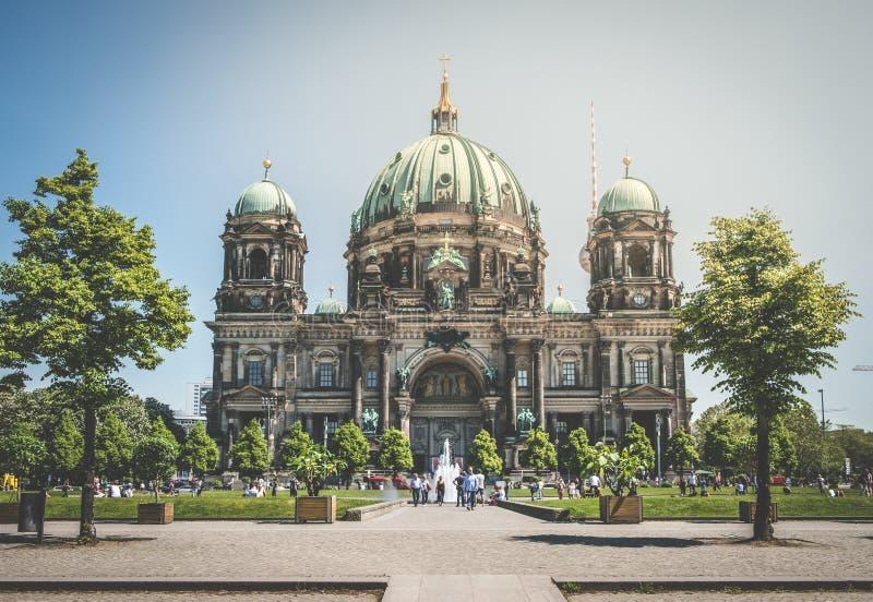 Berlińscy katedralni berlińczyków Dom w Berlin, Niemcy obraz stock