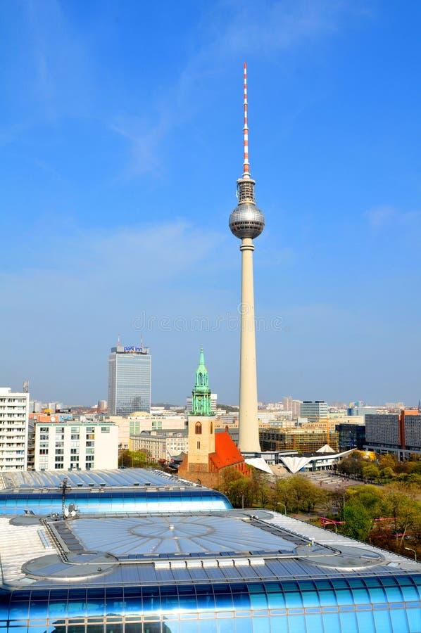 Berlińscy punkty zwrotni obrazy royalty free