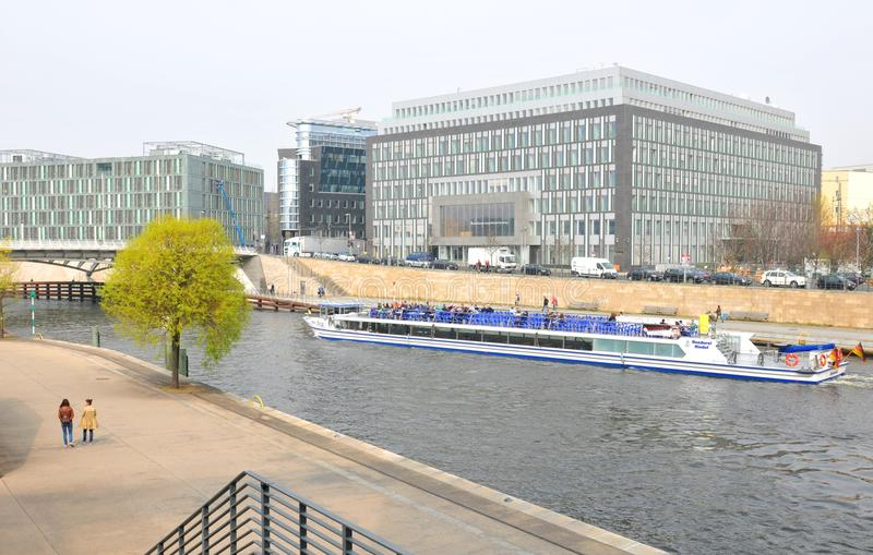 Berlińska architektura fotografia stock