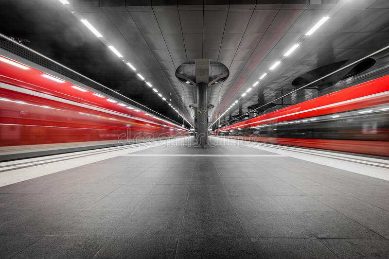 Berlińska Główna stacja w Niemcy zdjęcia stock