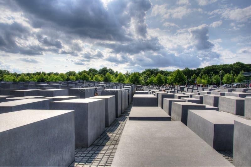 Berliński żydowski zabytek obrazy stock