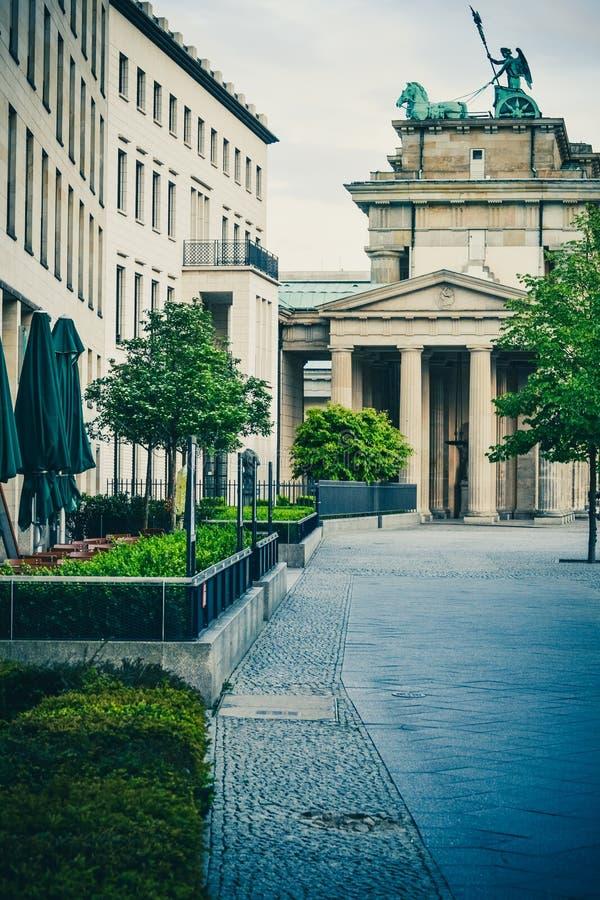 Berliński Bradenburg Tor zdjęcia royalty free