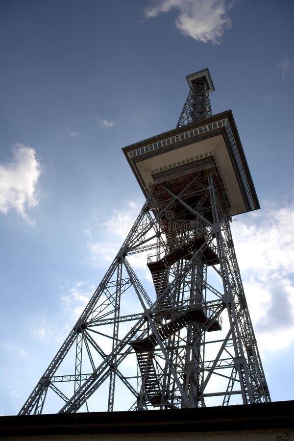 Berliński Funkturm Radiowy wierza fotografia royalty free
