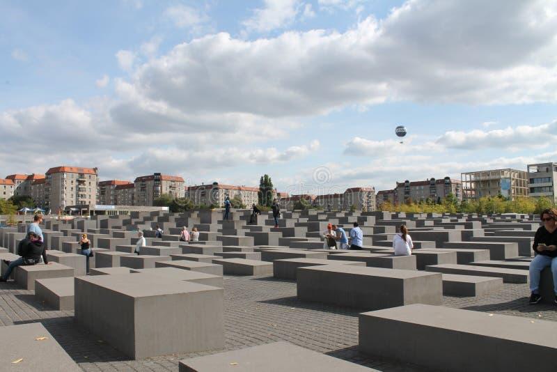 Berliński holokausta zabytek zdjęcie royalty free