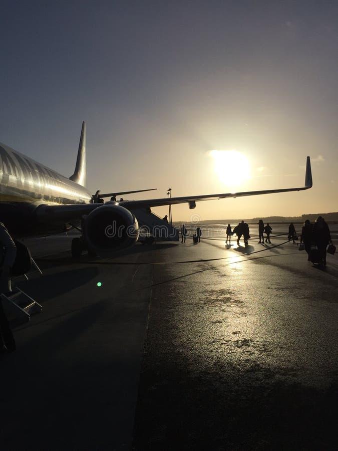 Berliński lotnisko zdjęcia stock