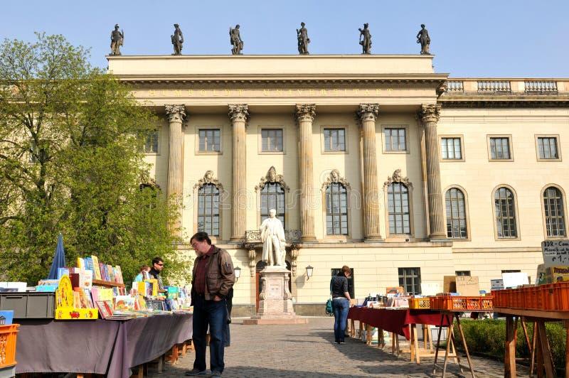 Berliński uniwersytet fotografia royalty free