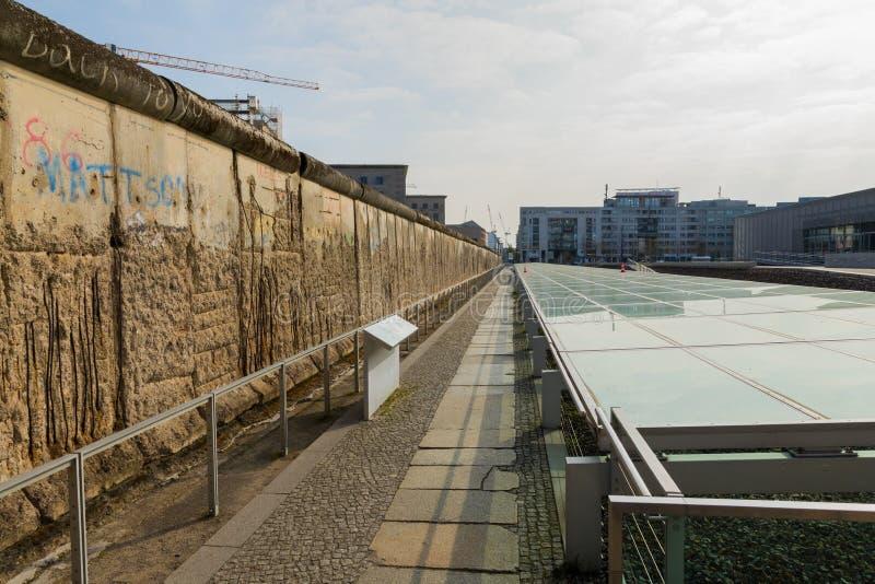Berlińskiej ściany muzeum w Niemcy fotografia royalty free