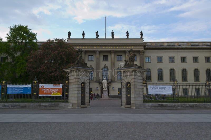 Berliński Humboldt uniwersytet zdjęcia royalty free