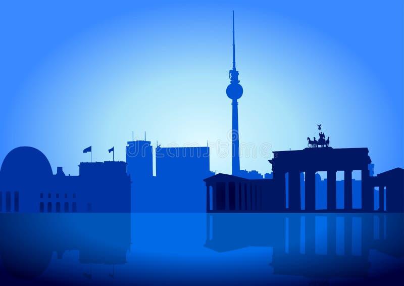 Berlijn royalty-vrije illustratie