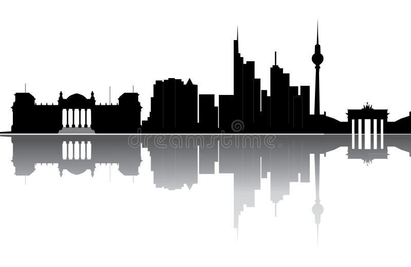 Berlijn vector illustratie