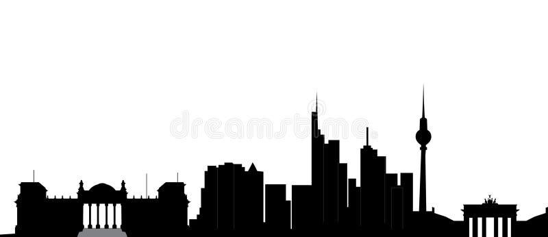 Berlijn stock illustratie