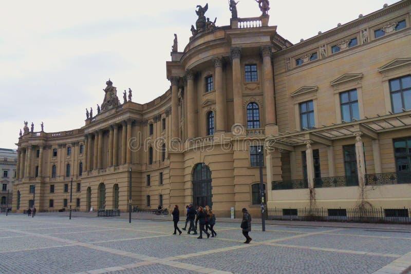 Berlijn - Alte Bibliothek stock afbeeldingen