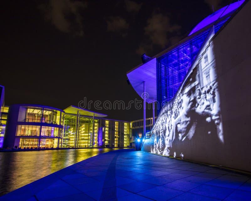 Berlijn, Duitsland; 19 Augustus 2018; Marie Elisabeth Luders Haus, stock afbeeldingen