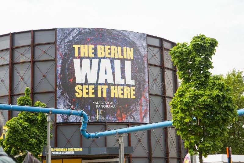 Berlijn, Duitsland Controlepost Charlie stock afbeelding