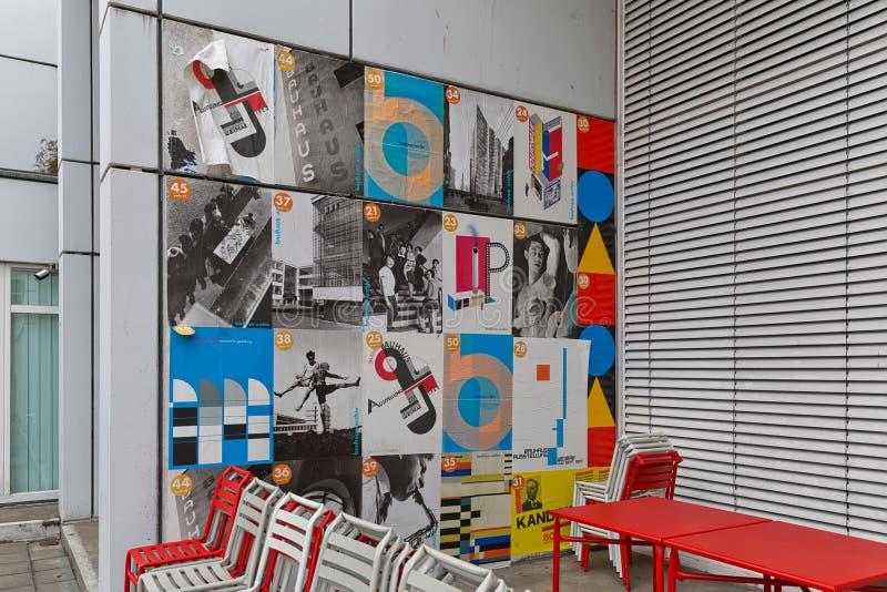 BERLIJN, DUITSLAND - JULI 2015: Bauhaus Archiv in Berlin German stock foto